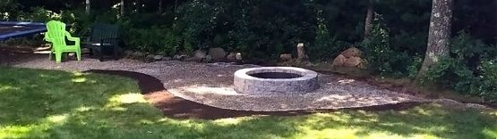 Bucciero Property Maintenance fire pit installation